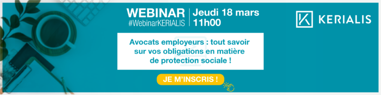 Bandeau d'invitation webinar protection sociale